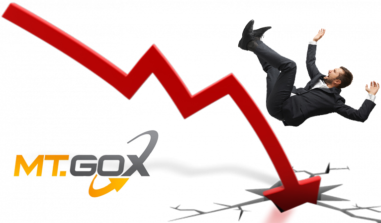 Mt Gox Exchange's Rate is falling down